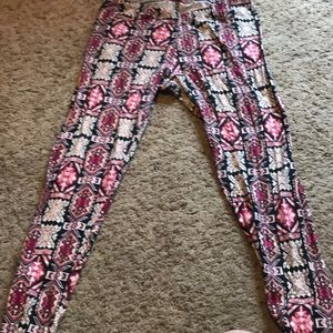 Pants - Cute Aztec print leggings!